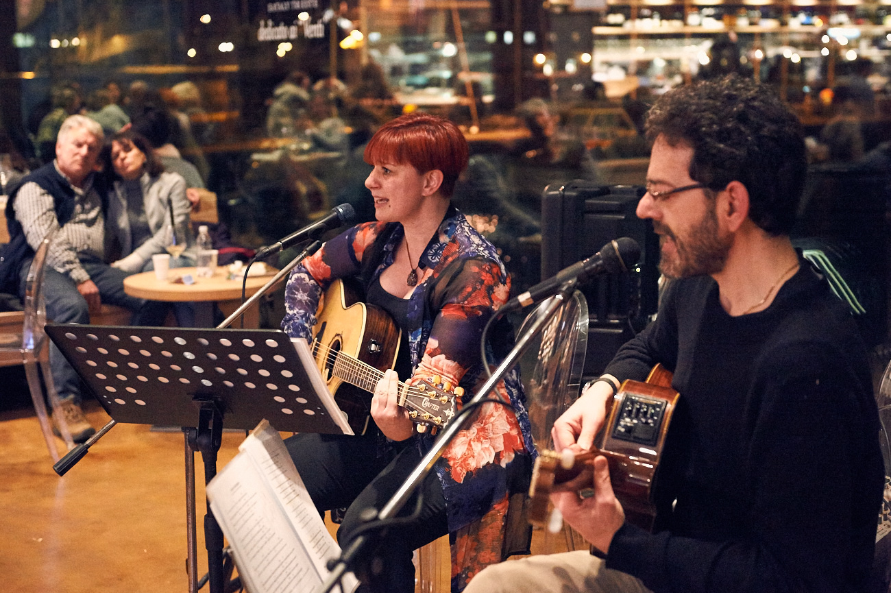 Paola Rossato – Concerto all' Eataly – Trieste 08.03.2017