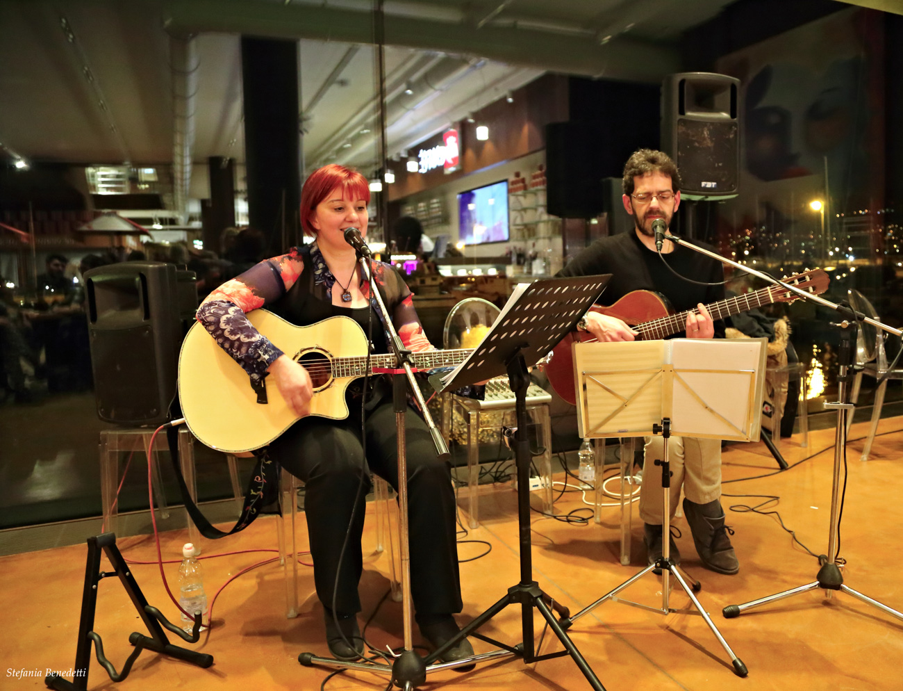 Paola Rossato – Concerto all'Eataly- Trieste 08.03.2017
